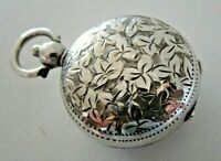 Solid Silver Sovereign Case, Albert Jackson, Birmingham 1903