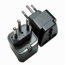 Switzerland Plug Adapter, Swiss Plug Adaptor – UK to Swiss Plug Adaptor. (Pac...