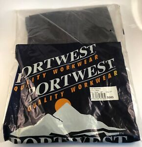 Portwest York Trousers / Work Wear - Various Sizes - Navy - Brand New