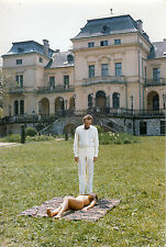 Photo originale Richard Burton Bluebeard Agostina Belli nudité château