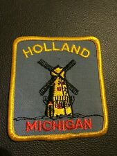 HOLLAND MICHIGAN - WINDMILL - Embroidered Patch