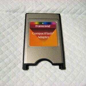 Transcend CompactFlash PCMCIA Card Adapter