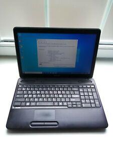 Toshiba C650 Laptop - Intel P6100 @ 2.0GHz 4GB RAM 120GB SSD DVD WiFi Win10