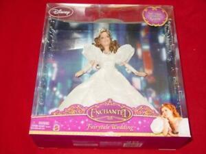 Disney Barbie: Enchanted Fairytale Wedding - Amy Adams as Giselle Doll (NEW) NIB