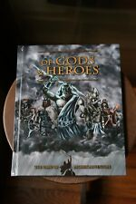 Of Gods & Heroes The Game of Mythic Adventure Hard to Find Book 2014 Green Fairy
