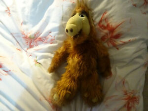 "Original 1986 Vintage 18"" ALF - Alien Life Form - Cuddly Plush Soft Toy Puppet"