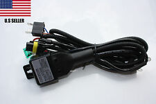 Relay, and  Wiring Harness cable controller for Bi-Xenon HID Xenon H4/9003(35W)