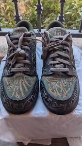 RARE 2007 OG Nike SB Dunk Low Premium Doernbecher OHSU Camo SIze 13 Olive pine