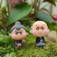 Garten Moss Terrarium Desktop Dekor Handwerk Bonsai Puppe Haus Miniaturen Diy ZP