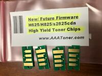 4 (New Firmware) HY Toner Chip for Dell H625cdw, H825cdw, S2825cdn Refill