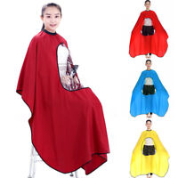 Hair Cutting Cape Salon Hairdressing Hairdresser Viewing Window Barber Cloth San