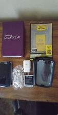 Samsung Galaxy S III SPH-L710 16GB Pebble Blue (Sprint) Smartphone, PLUS EXTRAS