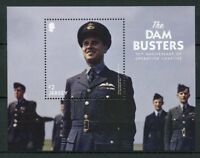 Jersey 2018 MNH WWII WW2 Dam Busters 75th Anniv 1v M/S Military Aviation Stamps