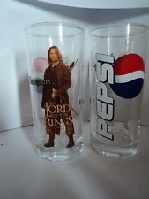 Glas / verre: Lord of the Rings - Pepsi: Aragorn