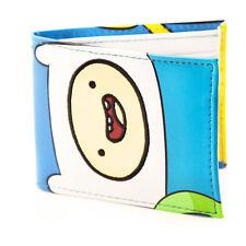 Adventure Time Finn & Jake Faces Full Colour Bi-fold Wallet White Mw165713a