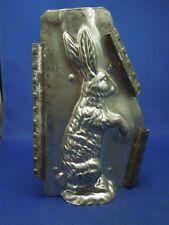 Vintage Standing Rabbit Easter Bunny Metal Tin Chocolate Candy Mold