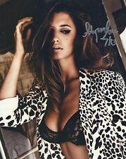 Alyssa Arce Autographed Photo 8x10 #102 Playboy Playmate Centerfold July 2013