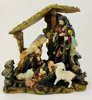 Nativity Scene 2002 Home Interiors Behold A Child Is Born HOMCO #55053