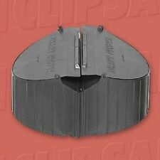 Airflow EXHAUST FAN DRAFTSTOPPA CEDS1 300mm Diameter, Black Polyvinyl Chloride