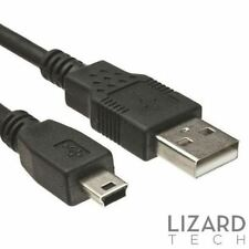 Mini Usb Data Cable de plomo para Sansui GPS35 F35 GPS43 3.5 4.3 SAT NAV sincronización PC