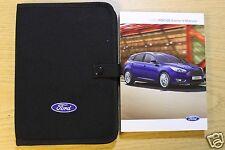 Genuine Ford Focus Handbook Owners Manual Wallet   Pack