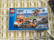 New In Sealed Box Lego 7686 - Lego City Helicopter Transporter