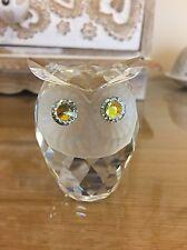 Swarovski Large Crystal Owl