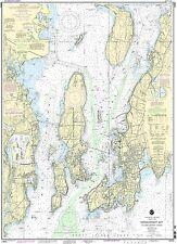 NOAA Chart Narragansett Bay including Newport Harbor 43rd Edition 13223