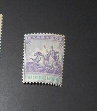 BARBADOS 1892 2s6d SG 115 Sc 80 MLH