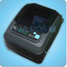 Zebra GX420T Direct & Transfer Thermal Barcode Label Printer 802.11 Wireless LCD