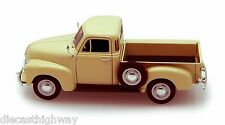 Welly 22087/4D-2 1953 Chevrolet 3100 Pickup Truck 1:24 Scale Diecast Model Cream