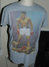 Muhammad Ali Brand Knock Out Shirt Large Gray