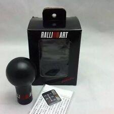 Black Manual RalliArt Style Gear Knob Mitsubishi Evo IV V VI VII VIII IX GT3000