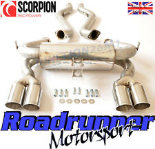 Scorpion M3 E92 Exhaust Stainless Steel Half System Coupe (07-13) Quad SBMB062