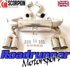 Scorpion M3 E92 E90 Sistema De Escape Acero Inoxidable Coupe & Saloon Quad sbmb062