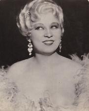 Mae West Original Vintage cartoline circa 1935