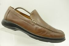 897d9b5488c Cole Haan Brown Leather Casual Slip On Moc Toe Driving Loafer Shoe Mens 10 M