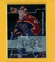 D11556 2001-02 BAP Signature Series Autographs #88 Milan Hnilicka