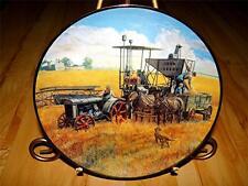 """Topping Off The Wagon"" Farmland Memories John Deere Tractor Farm Plate"