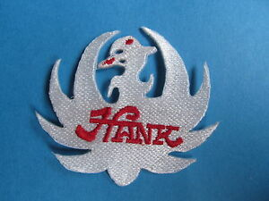 Hank Williams Jr Country Western Music Hat Hipster Jacket Vest Patch Crest White