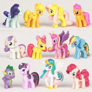 My Little Pony Sammlung Mein kleines Pony Spike Rainbow Dash Action Figur 12X
