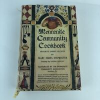 Mennonite Community Cookbook by Mary Emma Showalter 1986 Edition