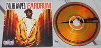 Talib Kweli - Eardrum CD Album Blacksmith Hip Hop 2007