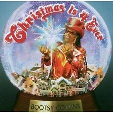 Bootsy Collins Christmas Is 4 Ever CD NEW SEALED 2006 Funk Funkadelic/Parliament