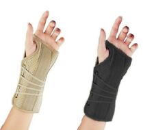 FLA Orthopedics Soft Fit Suede Finish Wrist Brace - All Sizes Available