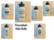 METAL Personalised Water Bottle 500ml Dishwasher Safe