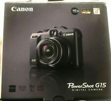 Canon PowerShot G15 Digital Camera - Black New In Box Never Used