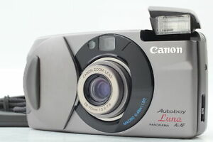 [N MINT]  Canon Autoboy Luna Panorama Ai AF Point & Shoot Film Camera From JAPAN