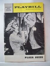 PLAZA SUITE Playbill NEIL SIMON / HOWARD KEEL / BETTY GARRETT Philadelphia 1970