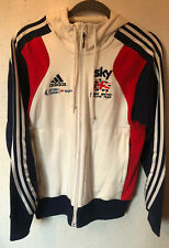 British Cycling Team GB Issue Sky Adidas Fleece Jacket Size Small Chest 34/36